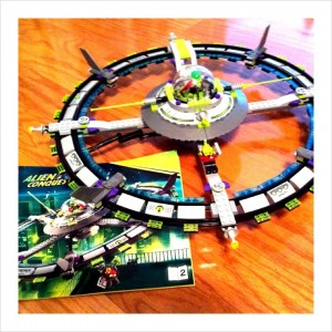Alien Conquest LEGO Set