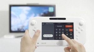 The Gamepad being used as a remote.
