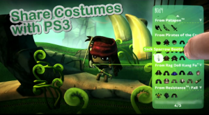 LBP Vita: Share Costumes with PS3
